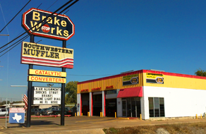 Southwest Muffler & Brake   Stafford Storefront