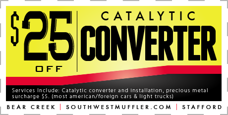 Catalytic Converter Coupon