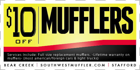 Muffler Repair Coupon