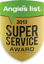 Houston Auto Repair Angie's List Super Service Award 2013